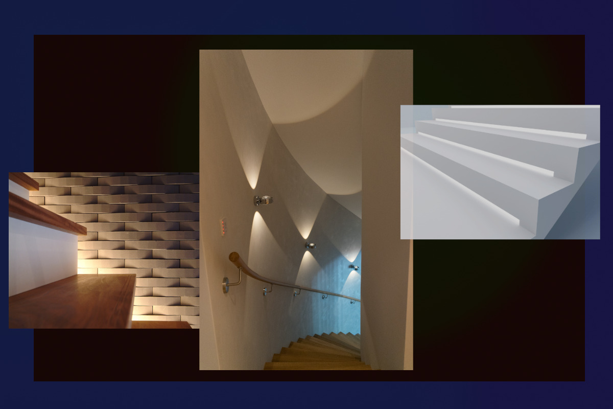 Indirekte Beleuchtung Treppenhaus Berlin